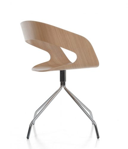 Chat swivel 08_ oak