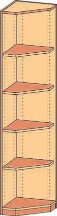 Eckregal BH 40-50x190 4FB