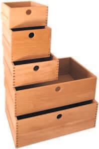 Holzschubkaesten
