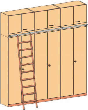 Leiteranlage und Einhaengeleiter