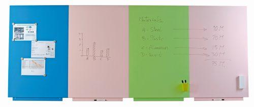 Rahmenloses Whiteboard 01-02