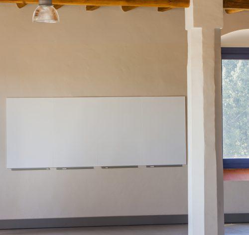 Rahmenloses Whiteboard 01-05