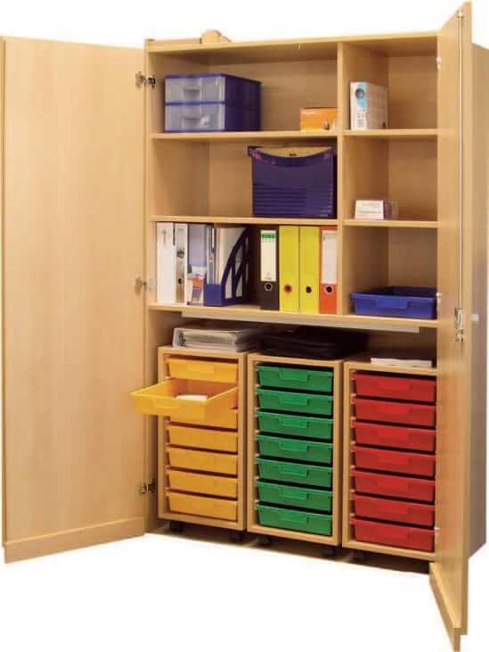 schrank mit aufbewahrungsboxen 25 bildung einrichten. Black Bedroom Furniture Sets. Home Design Ideas