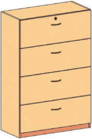 Schubladenschrank 10