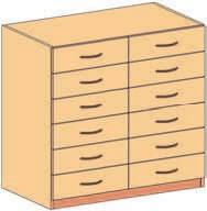 Schubladenunterschrank 10
